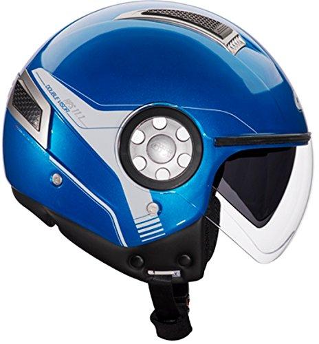Givi HPS 11.1 Air Demi-Jet-Helm, Blau, XL für 30,72€