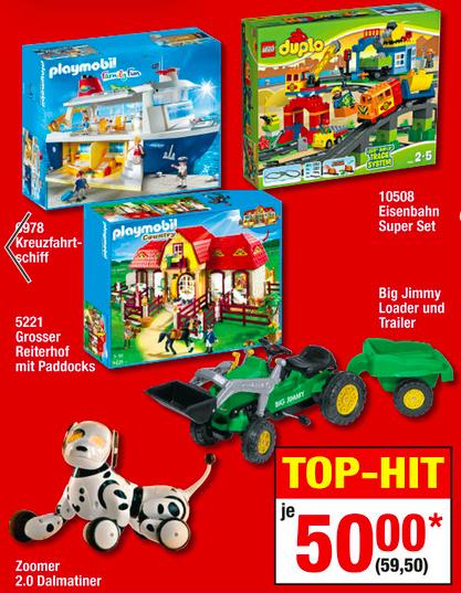 Metro: Lego Duplo Eisenbahn Super-Set (10508) für 59,50€ und weitere Angebote im Dealtext