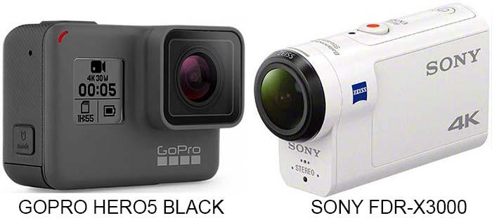 [Saturn] GoPro Hero5 Black für 347,50€ und Hero5 Session 266,50€ oder die SONY FDR-X3000R für 444,70€ - Nur am 2. und 3.1.