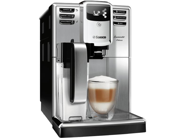 [Saturn Angebote] Saeco HD8921/01 Incanto Deluxe Kaffeevollautomat, integriertes Milchsystem, edelstahl