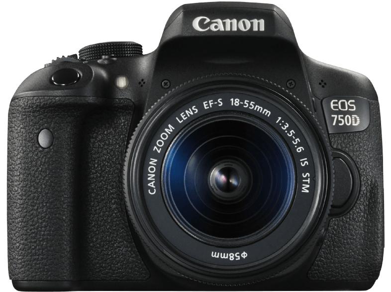 [Saturn] Canon EOS 750D mit 18-55 mm Objektiv (IS) für effektiv 521€ dank Canon Cashback