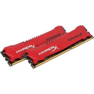 Kingston HyperX Arbeitsspeicher - 16 GB (2 x 8 GB) - DDR3 SDRAM - 1600 MHz DDR3-1600/PC3-12800 - 1,50 V - Nicht-ECC - Ungepuffert - CL9 - 240-polig - DIMM