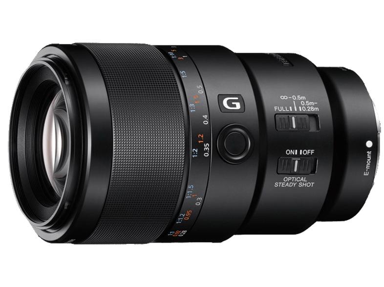 SONY SEL90M28G 90 mm f/2.8, Makro, System: Sony, Schwarz