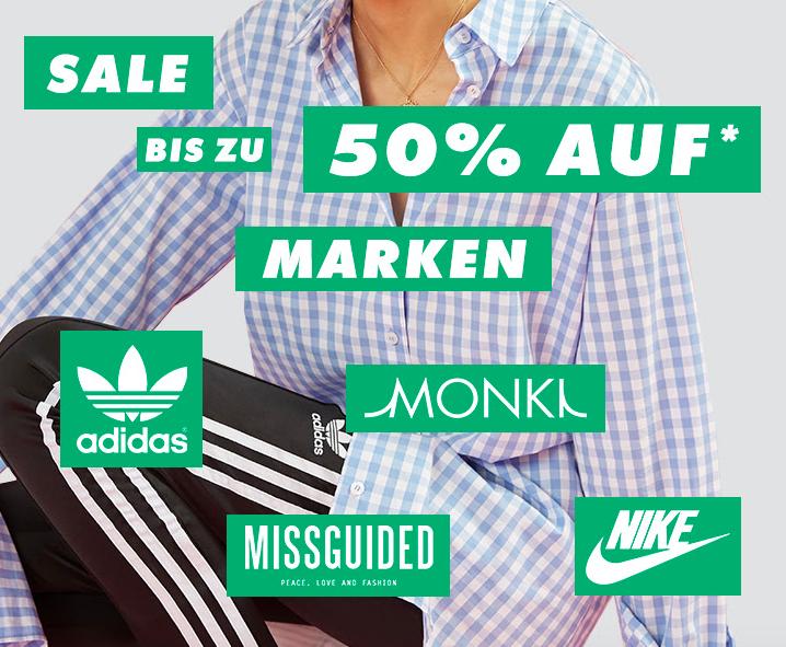 Großer Marken-Sale bei Asos mit bis zu 50% auf ausgewählte Teile von adidas, Puma, Selected, Monki, Weekday uvm.