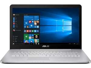ASUS N752VX-GC131T, Notebook i7-6700HQ, 8 GB RAM, 1 TB HDD, 256 GB SSD, NVIDIA GeForce GTX 950M 4GB