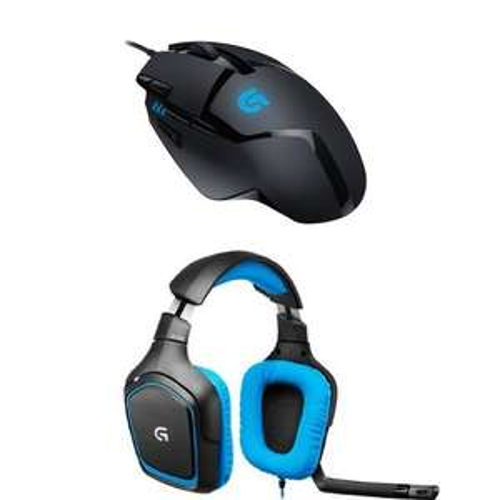 Logitech G430 Gaming Headset + Logitech G402 Hyperion Fury Gaming Maus für 75,43€ (Amazon.fr)