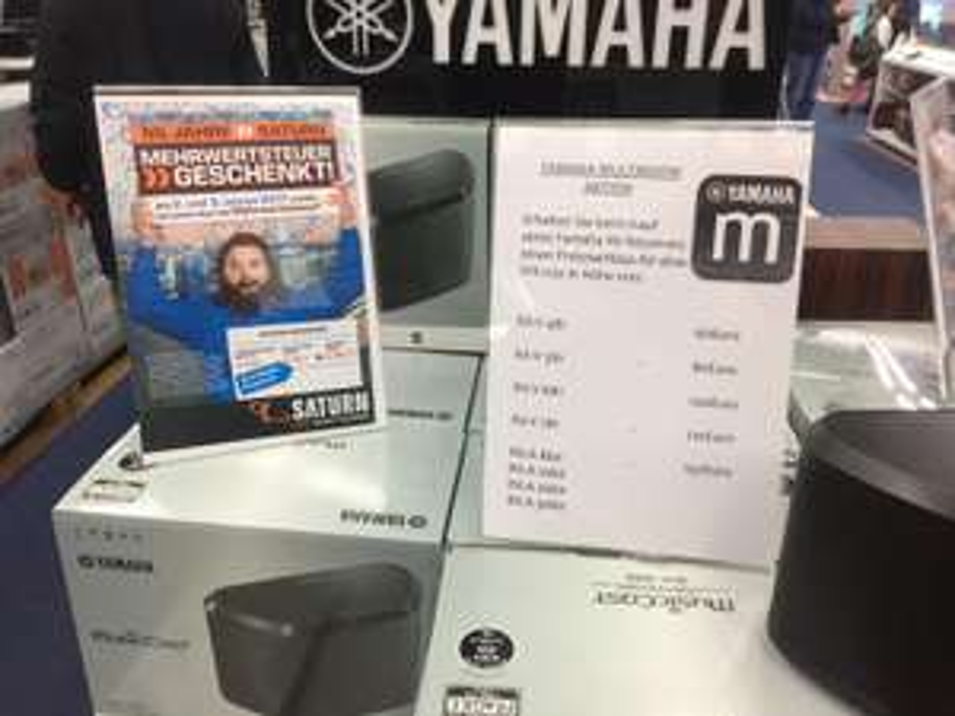 [LOKAL Saturn Berlin Schloßstr.] YAMAHA RX-A 860 inkl. Yamaha Musiccast WX030 für 880,50€