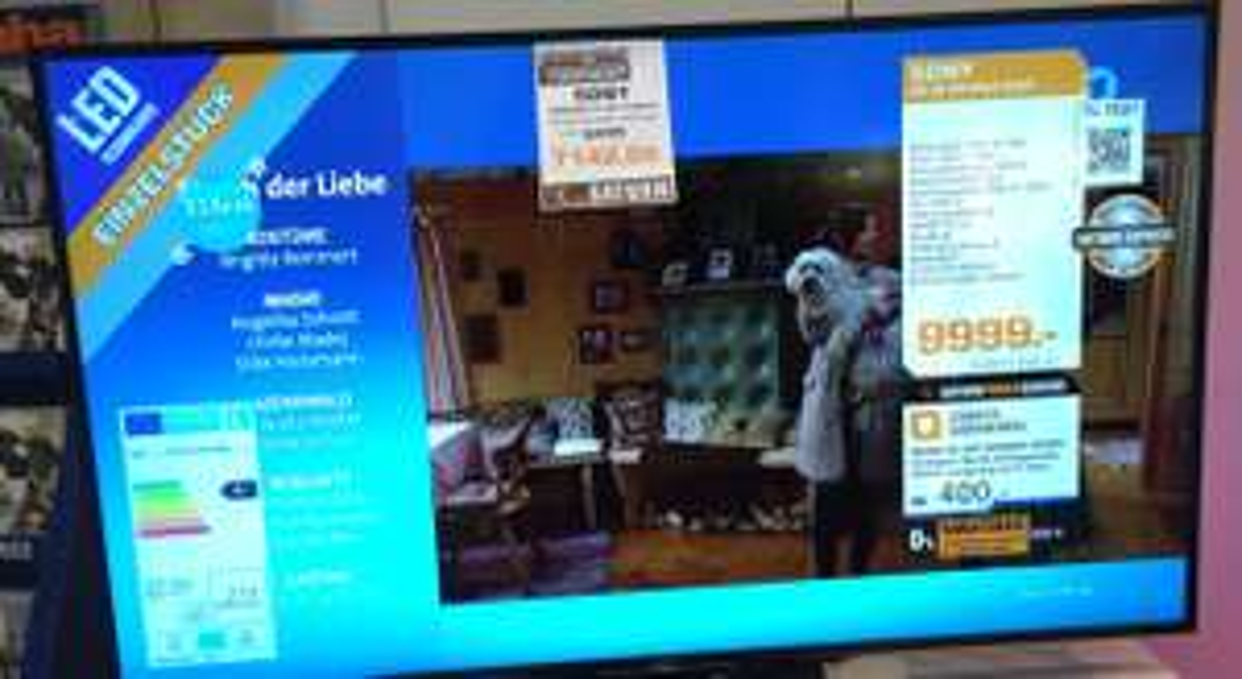 [Saturn Osnabrück] SONY XD8505 4k-Fernseher 85 Zoll mit HDR