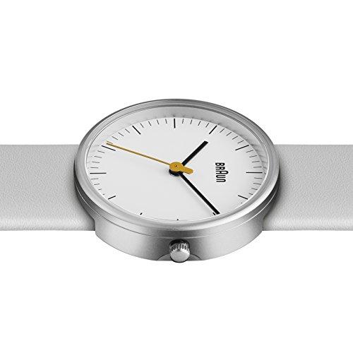 [Amazon] Braun Damen-Armbanduhr XS BN0021WHWHL Analog Leder