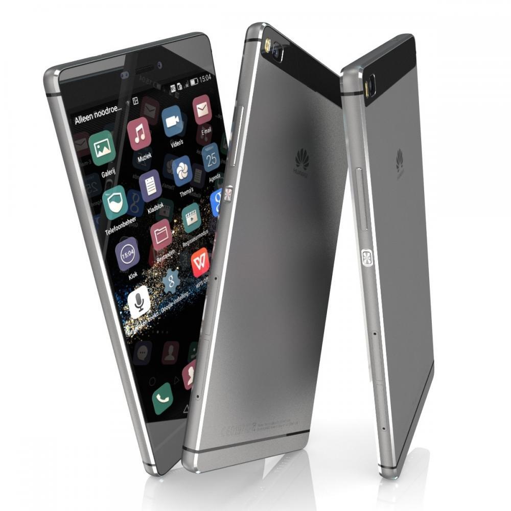 "Huawei P8 Titanium Grey 16GB 5,2"" FHD Display, Android 6.0, Octa-Core 2.0GHz, 3GB Ram, microSD (Nur Kreditkarte/Gutscheine) [amazon.es]"
