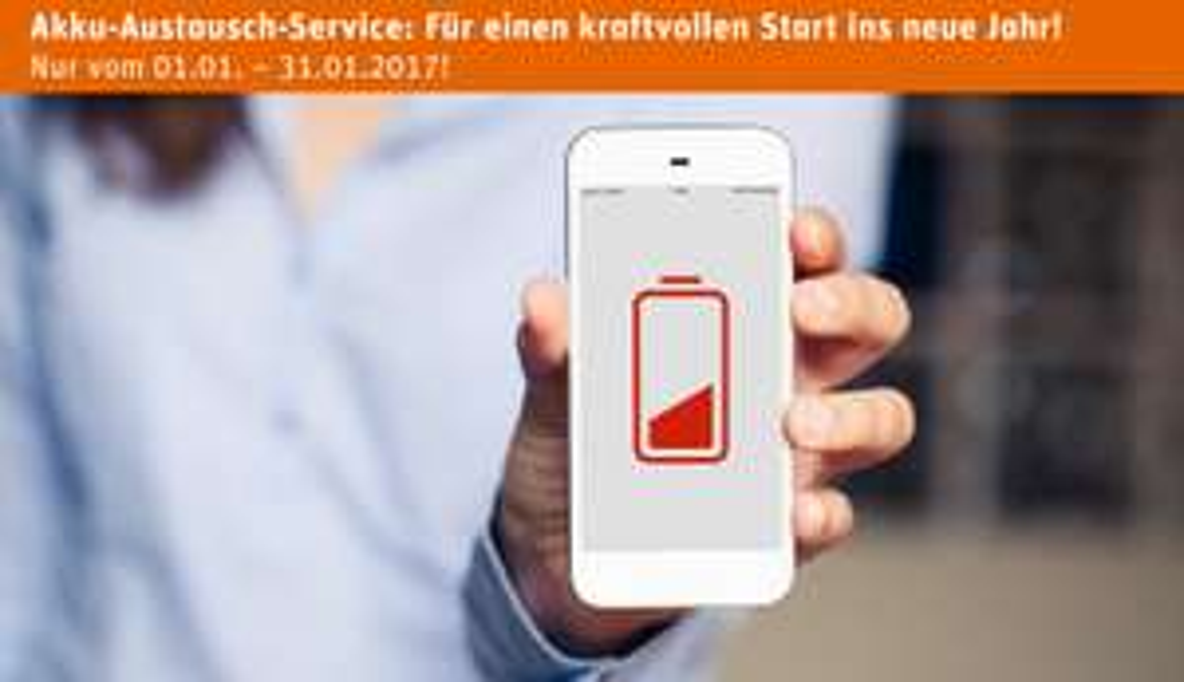 Gravis iPhone Akku-Austausch-Service nur € 69,99 statt € 89,99