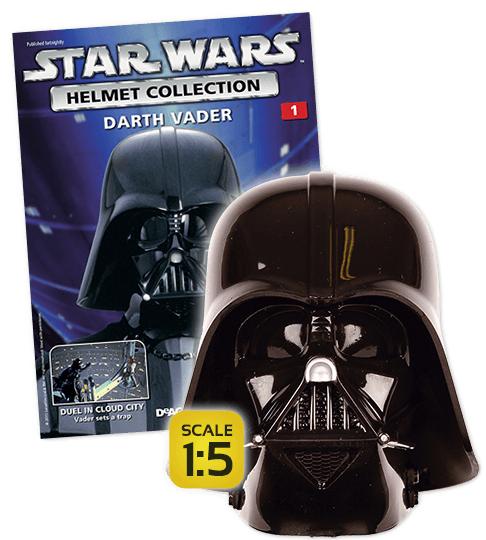 Kiosk: Star Wars Helm - Darth Vader, Maßstab 1:5