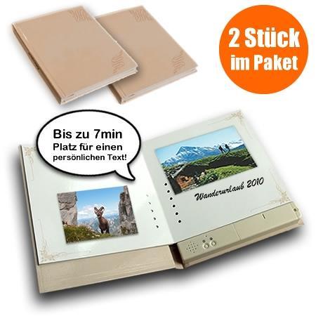 Besprechbares Fotobuch im 2er Set zum sehr guten Preis
