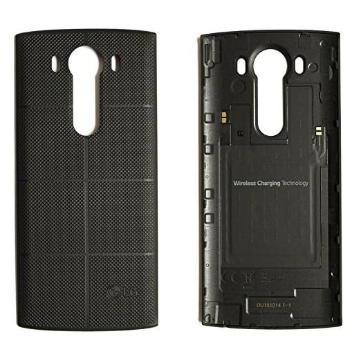 LG Wireless Charging Akkufachdeckel CPR-120 für V10, Schwarz (-50 %)