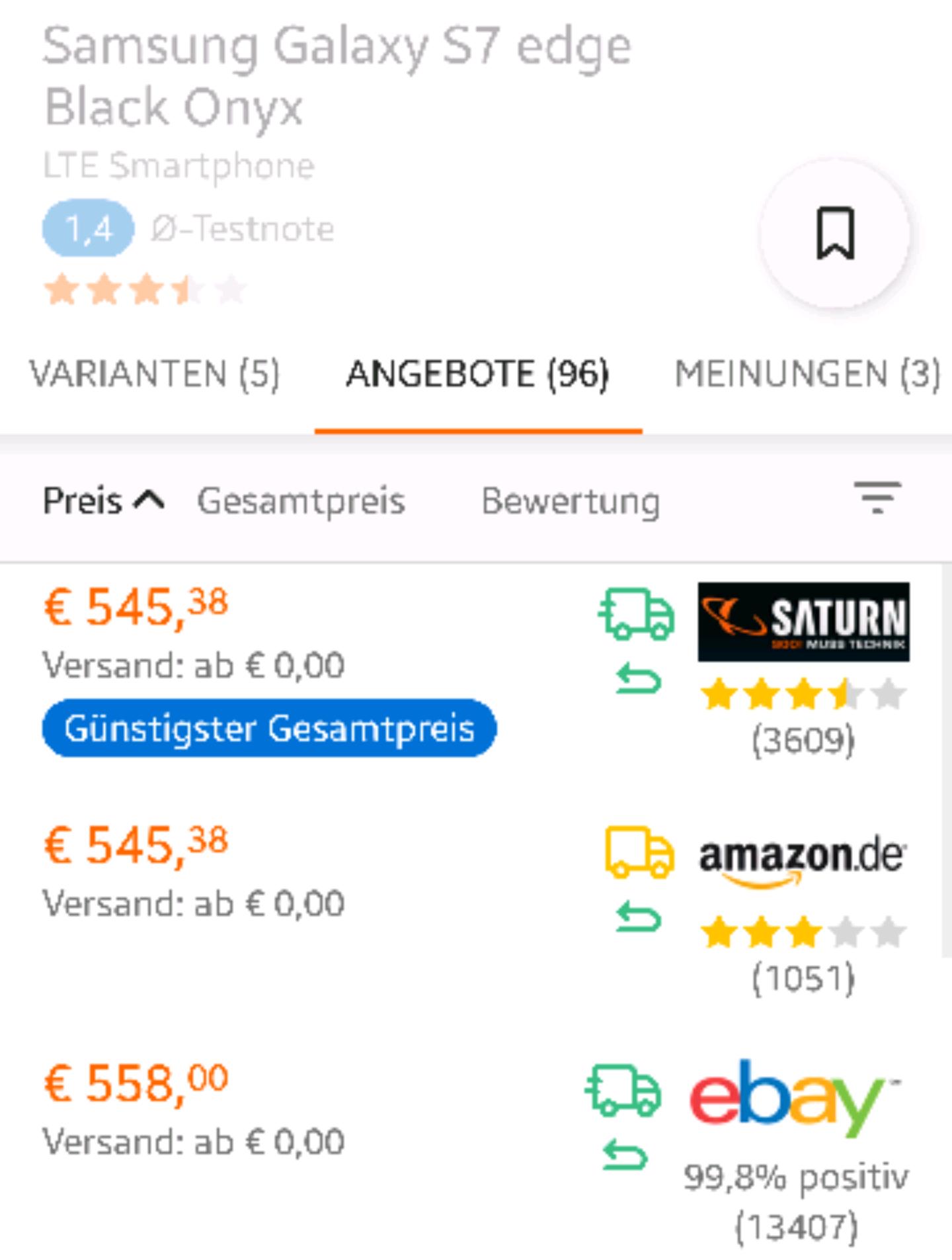 Amazon Elektronik mit gleichem Preis wie bei Saturn(MwSt-Aktion) aktuell