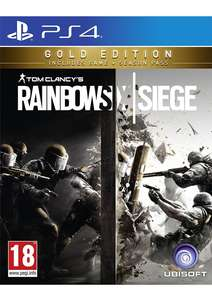 (SimplyGames) Tom Clancy's Rainbow Six Siege – Gold Edition (PS4) für 29,75€ inkl. VSK