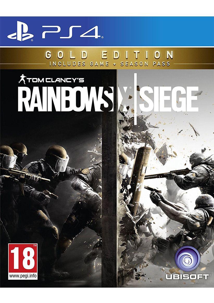 (SimplyGames) Tom Clancy's Rainbow Six Siege – Gold Edition (PS4) für 29,75€ inkl. VSK