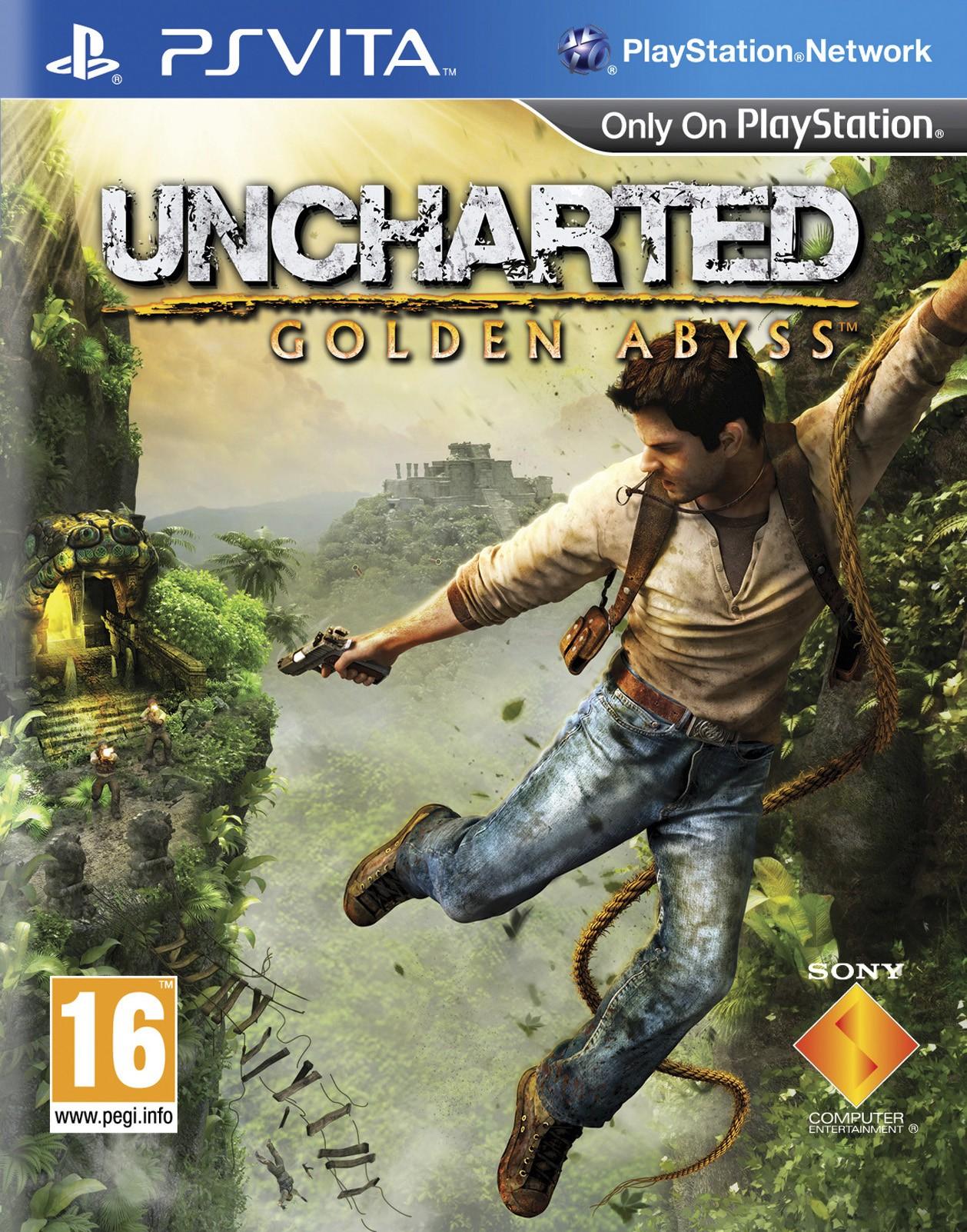 Uncharted Golden Abyss für Playstation Vita ohne PS+ Mitgliedschaft für 7,99