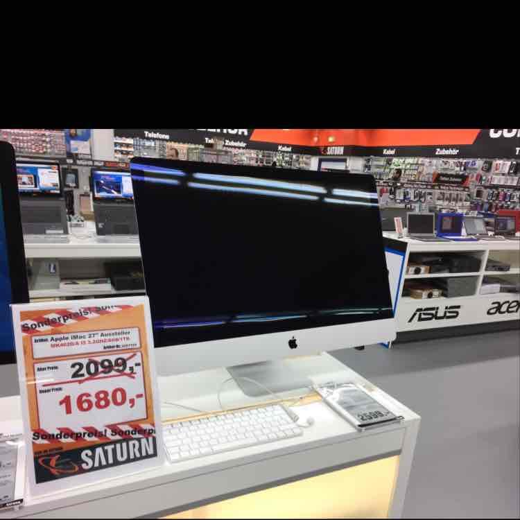 Apple iMac 27 Zoll, I 5, 3,2 GHZ, 8 GB Ram, 1 TB