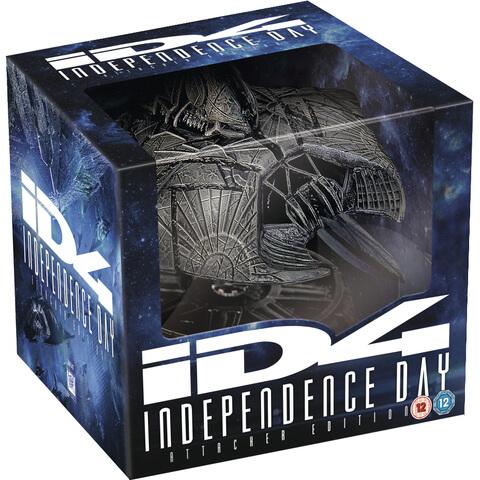 Independence Day - Alien Attacker Edition (2 Blu-rays + UV Copy) (Extended Cut) für 34,79€ (Zavvi)