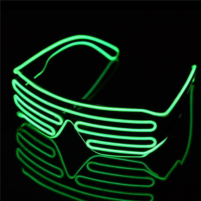 LED Brille mit Soundsteuerung für 5,95€ [Gearbest]