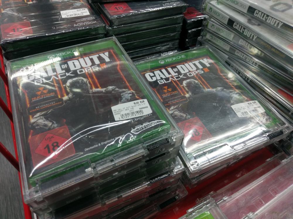 Call of Duty Black Ops 3 Xbox One (Lokal) Media Markt Hamburg-Harburg