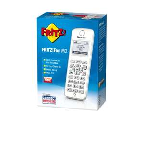 [Amazon] AVM FRITZ!Fon M2 DECT-Komforttelefon für FRITZ!Box