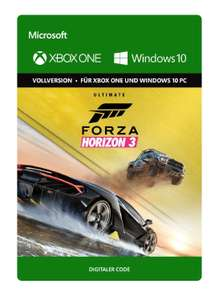 Forza Horizon 3 Ultimate Edition [key -> windows + xbox one] im Media Markt Coburg für 54,99