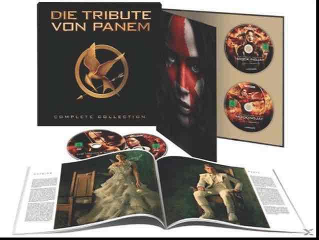 [Media Markt Online] Die Tribute von Panem (Limited Complete Collection) Blu-Ray