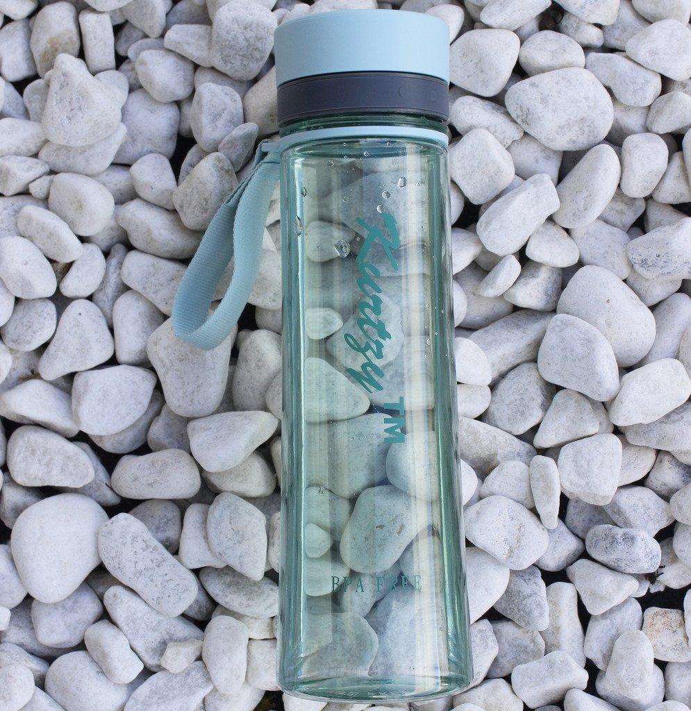 KurtzyTM 1 Liter Sport Trinkflasche BPA-FREI Kunststoff Sport Wasser trinken Plastik Flasche (Amazon.de) ALTER PREIS 14,96 €