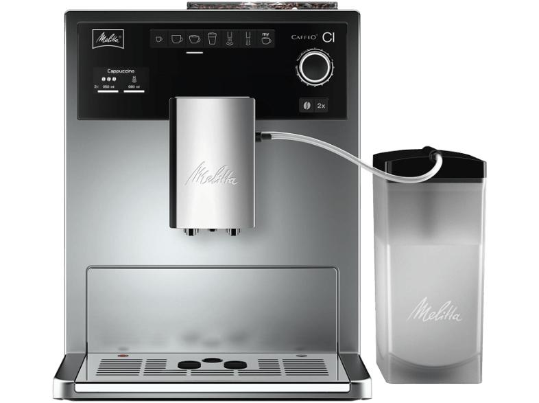 (Mediamarkt online/offline) MELITTA E 970-101 Caffeo CI Kaffeevollautomat + Gratis LAVAZZA 2899 Cafe Crema Classico Kaffeebohnen (1kg)