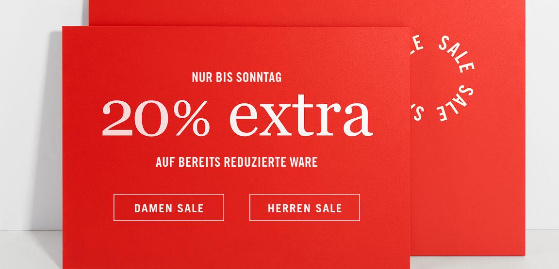 20% auf bereits reduzierte Ware [Marc O'Polo]