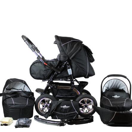 Bergsteiger Milano Kombikinderwagen + Babyschale und viel Zubehör für 291,19€, versandkostenfrei bei [babymarkt]