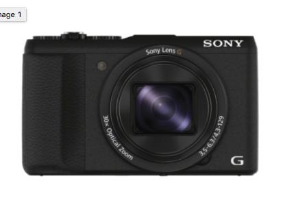 Sony Cyber-shot DSC-HX60V mit GPS für nur 222,- €