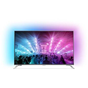Philips 55PUS7101/12 139,7 cm (55 Zoll) Ultraflacher Android 4K-Fernseher (3-seitigem Ambilight und PixelPrecise Ultra HD) (Lokal Bremen/Oldenburg und Umgebung)