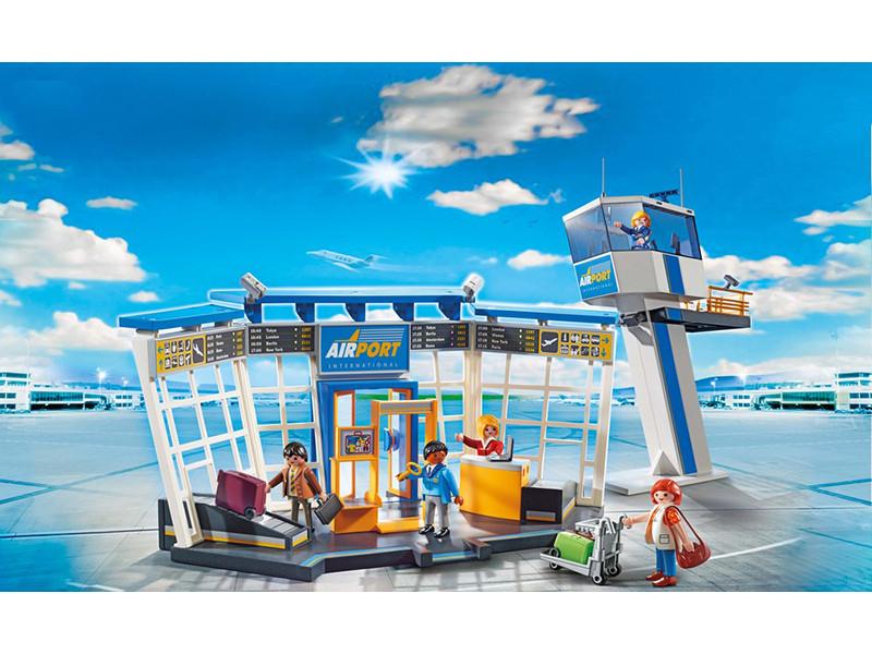 PLAYMOBIL® City-Flughafen mit Tower 5338