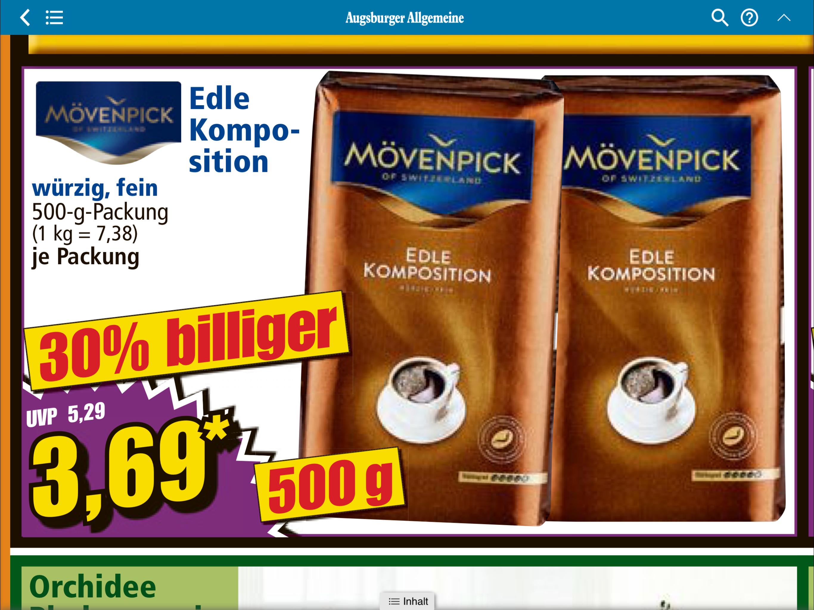 Offline Norma Mövenpick Edle Komposition 30% Billiger
