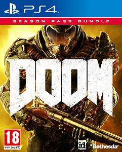 Doom + Season Pass Bundle (PS4) für ~26,70 EUR inkl. VSK