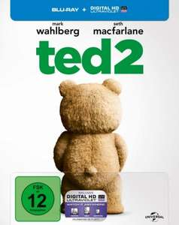 (MediaDealer) Ted 2 - Steelbook (Blu-ray) für 8,65€