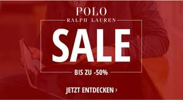 Ralph Lauren Winter Sale - bis zu 50% auf Kleidung (Herren/Damen/Kinder) und Accessoires