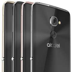 Alcatel Idol 4s (Quad HD, 5,5'' AMOLED, DUAL-SIM inkl. VR-Brille) + Bamster Bluetooth Lautsprecher  im mobilcom-debitel Vodafone Comfort Allnet 2 GB