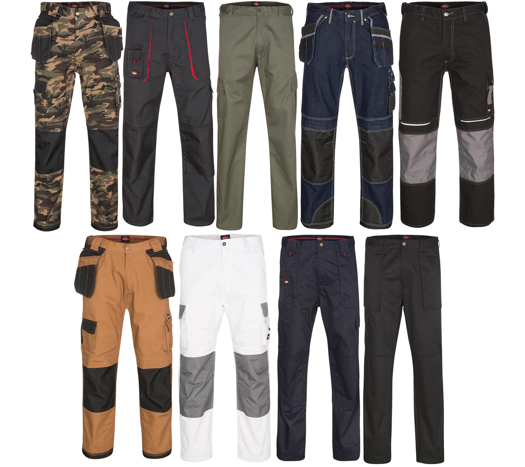 Lee Cooper Workwear Cargo Herrenarbeitshose für 9,99€ inkl. Versand, div. Größen u. Farben @ebay / Outlet46