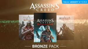 Assassin's Creed Bronze Pack (Ezio Collection) enthält Assassin's Creed 2, Brotherhood, Revelations