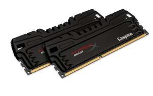 [Amazon Prime] Kingston HyperX Beast XMP KHX16C9T3K2/16X Arbeitsspeicher (1600MHz, CL9, 2x 8GB) DDR3-RAM 16GB Kit (2x8GB) für 60,13€ Bestpreis