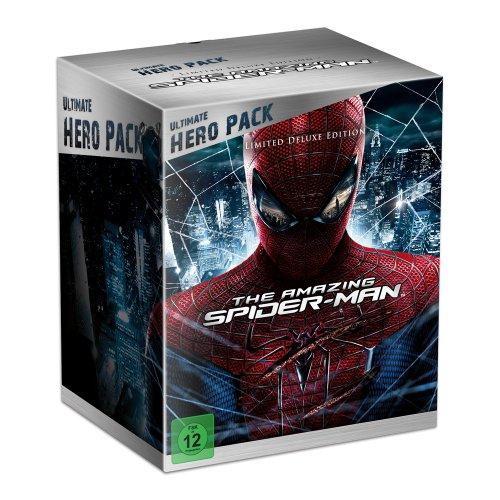 The Amazing Spider-Man Blu-ray Steelbook (Ultimate Hero Pack + Figur @Amazon für 37,70 € (VSK FREI)