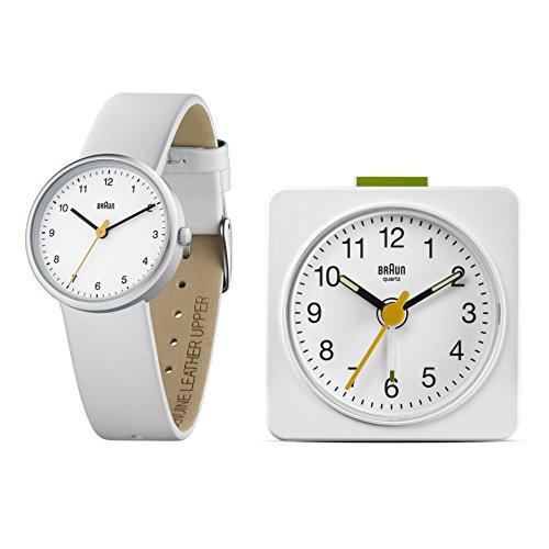 [Amazon Italien] Braun Geschenkset BN0231WHWH/BNC019WH Wecker und Uhr