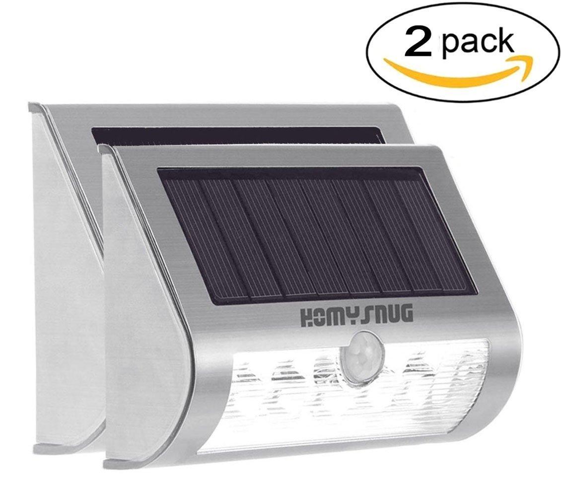 2 LED Solarlampen mit Bewegungsmelder (Amazon-Prime)