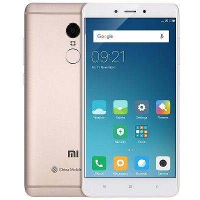 Xiaomi Redmi Note 4 LTE + Dual-SIM (5,5'' FHD IPS, Xelio X20 Decacore, 3GB RAM, 64GB eMMC, 13MP + 5MP Kamera, Fingerabdruckscanner, ohne Band 20, 4100mAh, Android 6) für 140,64€ [Gearbest]