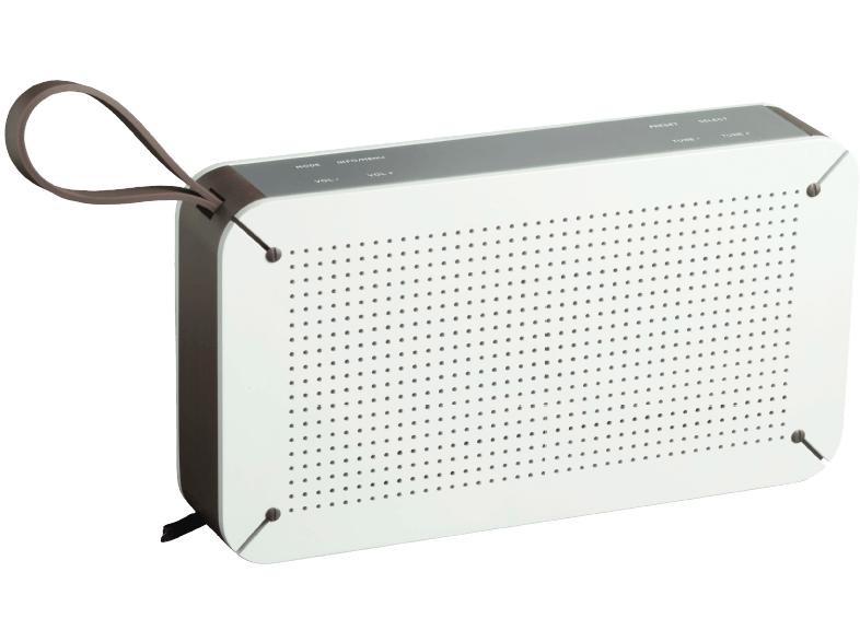 [Media Markt] PEAQ PDR 150 DAB+ Radio und Bluetooth und NFC Lautsprecher (Weiß)