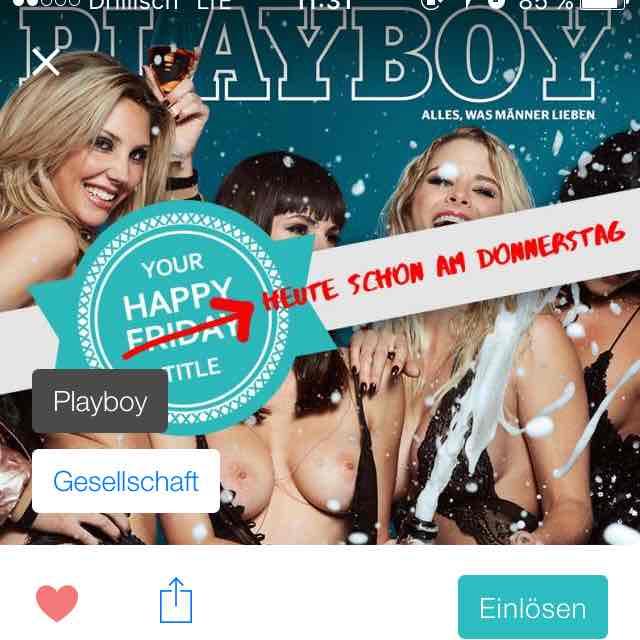 PlayBoy Gratis mit eazers